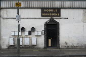 Nodule Mansions, a run down privately rented mansion block in West Hendon, London - Philip Wolmuth - 24-03-2016