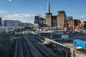 Battersea Power Station development, 480 acre Nine Elms regeneration zone, London. The zone will include two new tube stations, a new US Embassy building, and 20,000 new homes with prices of up to 9 m... - Philip Wolmuth - 31-03-2016