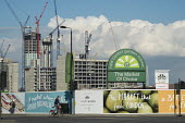 New Covent Garden fruit and vegetable market in the 480 acre Nine Elms regeneration zone, London. The zone will include two new tube stations, a new US Embassy building, and 20,000 new homes with pric... - Philip Wolmuth - 31-03-2016