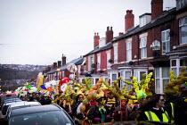 Sharrow Lantern Festival, Locals parade homemade lanterns, Sharrow, Sheffield, South Yorkshire - Connor Matheson - 10-04-2016
