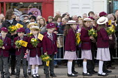 Pupils from The Croft Preparatory School. Commemorating 400th anniversary of William Shakespeare, Shakespeare's Birthday Celebrations, Stratford-upon-Avon - John Harris - 2010s,2016,ACE,AFFLUENCE,AFFLUENT,anniversary,Arts,author,authors,Bourgeoisie,boy,boys,child,CHILDHOOD,children,Culture,EDU,educate,educating,Education,educational,elite,elitism,EQUALITY,high,high inc
