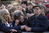 Families and supporters of the 96 victims of the Hillsborough disaster, commemorative vigil, Liverpool Tears and comfort. - John Harris - 27-04-2016