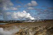 Reykjanes Geothermal Power Plant and Gunnuhver Hot Springs, Reykjanes peninsula, Iceland - Jess Hurd - 30-04-2016
