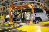 Windsor, Ontario Canada Car production Fiat Chrysler Automobiles Windsor Assembly Plant where FCA is producing Dodge Grand Caravan - Jim West - 06-05-2016