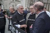 John McDonnell MP & Blacklist Support Group celebrating outside the Royal Courts of Justice after victory in their campaign for compensation for illegal blacklisting of construction workers - Philip Wolmuth - 2010s,2016,activist,activists,at,blacklist,blacklisted,blacklisting,building workers,campaign,campaigner,campaigners,campaigning,CAMPAIGNS,CELEBRATE,celebrating,celebration,celebrations,Construction I