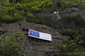 EU part funded gorge land stabilisation project to prevent rock falls, Ironbridge, Shropshire, project part funded by European Regional Development Fund - John Harris - 17-05-2016
