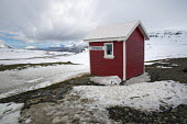 Emergency shelter hut, Stefansbud mountain pass, East Iceland. - Jess Hurd - 2010s,2016,cold,conditions,country,countryside,DIA,Emergency,eu,Europe,european,europeans,freezing,frozen,hut,huts,ice,Icelander,Icelanders,Icelandic,icy,incident,incidents,low temperature,outdoors,ou