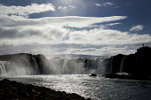 Tourists visiting Godafoss waterfall, Iceland - Jess Hurd - 08-05-2016