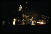 Taverner, Opera with music and libretto by Peter Maxwell Davies, Stage Design by Ralph Koltai, Royal Opera House, London, 1972. Based on the life of the 16th-century English composer John Taverner - Chris Morris - 1970s,1972,ACE,Arts,cities,city,composer,Culture,Design,Gwynne Howell,House,houses,John Taverner,Koltai,London,Maxwell,melody,Michael Geliot,music,MUSICAL,opera,operatic,Peter Maxwell Davies,Ragnar Ul