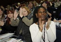 A black woman UCU delegate Women's TUC, 2015 - Janina Struk - 13-03-2015