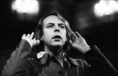 Composer Karl Heinz Stockhausen, London, 1970 - Mary Elgin - 1970,1970s,ACE,Arts,attention,attentive,cities,city,composer,Composers,conducting,conductor,conductors,Culture,Heinz,intelligence,intelligent,interested,Karl Heinz Stockhausen,listen,listening,London,