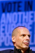 Yanis Varoufakis speaking. Another Europe is Possible conference, Vote In campaign. UCL Institute of Education. London. - Jess Hurd - 28-05-2016