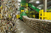 Southfield, Michigan, ReCommunity materials recovery facility, where recyclable materials are sorted and baled - Jim West - 31-03-2016