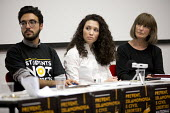 Gareth Peirce, solicitor and Malia Bouattia, Black Students Campaign, Prevent, Islamophobia and Civil Liberties Conference, Goldsmiths College, London - Jess Hurd - 04-06-2016