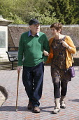 Caring for the elderly, Sunday day out Ironbridge, Shropshire - John Harris - 22-05-2016