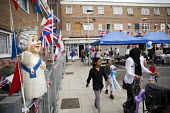 Queen Elizabeth II 90th birthday celebration weekend. EastendHomes Street Party. Tower Hamlets, East London - Jess Hurd - 2010s,2016,2nd,90th,birthday,BIRTHDAYS,CELEBRATE,CELEBRATING,celebration,CELEBRATIONS,cities,City,communities,community,East London,Eastender,eastenders,flag,flags,leisure,lfL,LIFE,lifestyle,London,pa