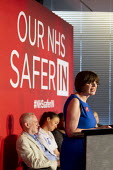 Frances O'Grady addresses health workers at TUC NHS safer in the EU rally. Congress House, London. - Jess Hurd - 2010s,2016,brexit,care,Congress House,EU,FEMALE,Frances O'Grady,health,HEALTH SERVICES,health TUCs,healthcare,House,houses,Labour Party,London,member,member members,members,NATIONAL HEALTH SERVICE,NHS