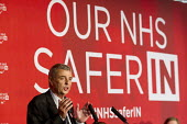 Dave Prentis UNISON, addresses health workers at TUC NHS safer in the EU rally. Congress House, London. - Jess Hurd - 2010s,2016,brexit,care,Congress House,Dave Prentis,EU,health,HEALTH SERVICES,health TUCs,healthcare,House,houses,Jeremy Corbyn,London,member,member members,members,NATIONAL HEALTH SERVICE,NHS,people,P