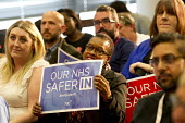 Jeremy Corbyn addresses health workers at TUC NHS safer in the EU rally. Congress House, London. - Jess Hurd - 2010s,2016,BAME,BAMEs,Black,BME,bmes,brexit,care,Congress House,diversity,ethnic,ethnicity,EU,FEMALE,health,HEALTH SERVICES,health TUCs,healthcare,House,houses,Jeremy Corbyn,Labour Party,London,member