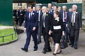 Jo Cox murder. David Cameron and Jeremy Corbyn leading MPs to St Margaret's Church for a service remembering murdered Labour MP Jo Cox, London - Jess Hurd - 2010s,2016,Church,church service,churches,CONSERVATIVE,Conservative Party,conservatives,David Cameron,death,deaths,died,FEMALE,grieving,Jeremy Corbyn,Jo Cox,kill,killed,killing,London,mortality,MOURNE
