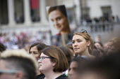 Memorial event for murdered Labour MP, Jo Cox. Love Like Jo Trafalgar Square, London - Jess Hurd - 2010s,2016,COMMEMORATE,COMMEMORATING,commemoration,COMMEMORATIONS,death,deaths,died,grief,grieving,Jo Cox,kill,killed,killing,Labour MP,Labour Party,London,Love Like Jo,Memorial,mortality,mourn,MOURNE
