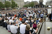 Brendan Cox speaking at a memorial event for wife and murdered Labour MP, Jo Cox. Love Like Jo Trafalgar Square, London - Jess Hurd - 22-06-2016