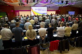 One minute silence in support of the Orlando victims and Jo Cox MP, TUC LGBT Conference, Congress House, London - Jess Hurd - 23-06-2016