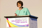 Frances O'Grady speaking, TUC LGBT Conference, Congress House, London - Jess Hurd - 23-06-2016
