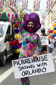 Picturehouse stands with Orlando, Pride in London Parade 2016 - Jess Hurd - 2010s,2016,ACE,activist,activists,banner,banners,BECTU,CAMPAIGN,campaigner,campaigners,CAMPAIGNING,CAMPAIGNS,Culture,DEMONSTRATING,Demonstration,DEMONSTRATIONS,equal,Gay,Gays,Homosexual,HOMOSEXUALITY,