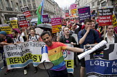 Stand Up to Racism, Pride in London Parade 2016 - Jess Hurd - 2010s,2016,ACE,activist,activists,anti racist,banner,banners,bigotry,CAMPAIGN,campaigner,campaigners,CAMPAIGNING,CAMPAIGNS,Culture,DEMONSTRATING,Demonstration,DEMONSTRATIONS,DISCRIMINATION,equal,equal