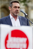 Journalist Paul Mason speaking Keep Corbyn, Build Our Movement rally against Blairite leadership challenge Parliament Square, Westminster, London - Jess Hurd - 27-06-2016