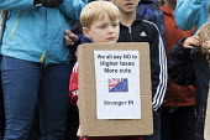 Pro EU membership demonstration Bristol - Paul Box - 2010s,2016,activist,activists,boy,boys,campaign,campaigner,campaigners,campaigning,CAMPAIGNS,child,CHILDHOOD,children,DEMONSTRATING,Demonstration,DEMONSTRATIONS,EU,Europe,European Union,juvenile,juven