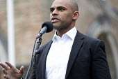 Mayor of Bristol Marvin Rees speaking Pro EU membership demonstration Bristol - Paul Box - 2010s,2016,activist,activists,against,brexit,campaign,campaigner,campaigners,campaigning,CAMPAIGNS,DEMONSTRATING,Demonstration,DEMONSTRATIONS,EU,Europe,European Union,Labour Party,Mayor,MAYORAL,MAYORS