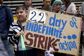Protest by City of London cleaners on indefinite strike after half the migrant workers were sacked by Thames Cleaning. Demanding the London Living Wage they announced a hunger strike. The contractor s... - Jess Hurd - 100 Wood Street,2010s,2016,activist,activists,at,BAME,BAMEs,black,BME,bmes,CAMPAIGN,campaigner,campaigners,CAMPAIGNING,CAMPAIGNS,CBRE,City of London,cleaner,cleaners,CLEANING,cleansing,contractor,cont