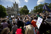 Anti racist placardMarch for Europe against the Brexit EU referendum result, Central London, room for refugees no room for racists - Jess Hurd - 02-07-2016