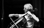 Paul Tortelier, French cellist and composer, London, 1973 - Peter Harrap - 1970s,1973,ACE,Arts,Cellist,cello,cities,city,Culture,French,London,melody,music,MUSICAL,musical instrument,musical instruments,musician,musicians,Paul Tortelier,play,player,players,playing,solo,Torte