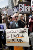 Stop the War protest on publication of the Chilcot Report on the Iraq war, QEII Centre, London. - Jess Hurd - 06-07-2016