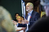 Durham Miners Gala 2016, Jeremy Corbyn at an eve of gala public meeting at Redhills, the HQ of Durham area NUM Durham City, Co Durham. - Mark Pinder - 2010s,2016,County Durham,Jeremy Corbyn,Labour Party,Left,left wing,Leftwing,meeting,MEETINGS,member,member members,members,MINER,Miners,MINER'S,MP,MPs,NUM,people,POL,political,politician,politicians,P