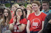 Jeremy Corbyn supporters, Durham Miners Gala 2016, Co Durham - Mark Pinder - 2010s,2016,County Durham,Durham Miners Gala,Jeremy Corbyn,Labour Party,Left,left wing,Leftwing,member,member members,members,MINER,Miners,MINER'S,NUM,people,person,persons,POL,political,POLITICIAN,POL