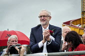 Jeremy Corbyn Durham Miners Gala 2016, Co Durham - Mark Pinder - 2010s,2016,applauding,applause,County Durham,Durham Miners Gala,Jeremy Corbyn,Labour Party,Left,left wing,Leftwing,member,member members,members,MINER,Miners,MINER'S,MP,MPs,NUM,people,POL,political,po