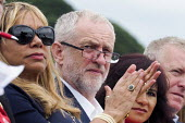 Jeremy Corbyn Durham Miners Gala 2016, Co Durham - Mark Pinder - 2010s,2016,applauding,applause,County Durham,Durham Miners Gala,Jeremy Corbyn,member,member members,members,MINER,Miners,MINER'S,MP,MPs,NUM,people,POL,political,politician,politicians,Politics,Trade U