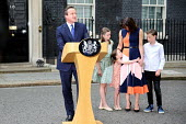 David Cameron and his family leaving 10 Downing Street as he resigns as Prime Minister, Westminster, London - Jess Hurd - 13-07-2016
