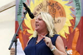 Liz Snape TUC President speaking Tolpuddle Martyrs' Festival 2016. Dorset. - Jess Hurd - 2010s,2016,ACE,Agricultural workers union,AWU,Dorset,FEMALE,Festival,FESTIVALS,Liz Snape,member,member members,members,PEOPLE,person,persons,President,SPEAKER,SPEAKERS,speaking,SPEECH,SWTUC,Tolpuddle