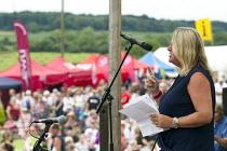 Liz Snape TUC President speaking Tolpuddle Martyrs' Festival 2016. Dorset. - Jess Hurd - 2010s,2016,ACE,Dorset,FEMALE,Festival,FESTIVALS,Liz Snape,member,member members,members,PEOPLE,person,persons,President,SPEAKER,SPEAKERS,speaking,SPEECH,SWTUC,Tolpuddle Martyrs festival,Tolpuddle Mart