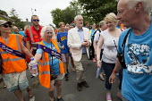 Jeremy Corbyn with gifted Dorset Marmalade from a supporter at Tolpuddle Martyrs' Festival 2016. Dorset. - Jess Hurd - 2010s,2016,ACE,Dorset,Festival,FESTIVALS,Jeremy Corbyn,Labour Party,Marmalade,member,member members,members,PEOPLE,supporter,SWTUC,Tolpuddle Martyrs festival,Tolpuddle Martyrs' Festival,trade union,tr