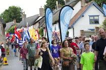 Prospect marching Tolpuddle Martyrs' Festival 2016. Dorset. - Jess Hurd - 17-07-2016