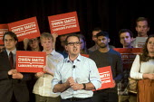 Owen Smith MP speaking at a campaign rally to become Leader of the Labour Party, Emmanuel Centre, Westminster, London - Stefano Cagnoni - 2010s,2016,biblical quotation,campaign,campaigning,CAMPAIGNS,Labour Party,Leader,leadership,London,MP,MPs,Owen Smith,Party,people,person,persons,POL,political,politician,politicians,Politics,rallies,r