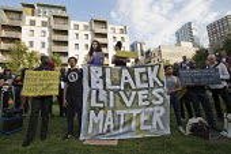 Malia Bouattia NUS speaking, Black Lives Matter Shutdown, Altab Ali Park, Tower Hamlets, London - Jess Hurd - 05-08-2016