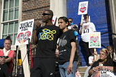 Becky Shah of Hillsborough Justice Campaign speaking Five years since the Tottenham Riots the Mark Duggan Justice Campaign Day of Action, Remembrance and Community Healing protest from Broadwater Farm... - Jess Hurd - 06-08-2016