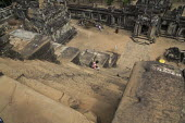 Cambodia, Ta Keo Temple - David Bacon - 2010s,2015,ACE,Angkor Thom,Angkor Wat,architecture,Arts,Asia,asian,asians,Bayon,buddha,Buddhism,buddhist,buddhists,buildings,Cambodia,Cambodian,Cambodians,carving,Culture,holiday,holidaymaker,holidaym